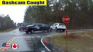 Ultimate North American Cars Driving Fails Compilation - 226 [Dash Cam Caught Video]
