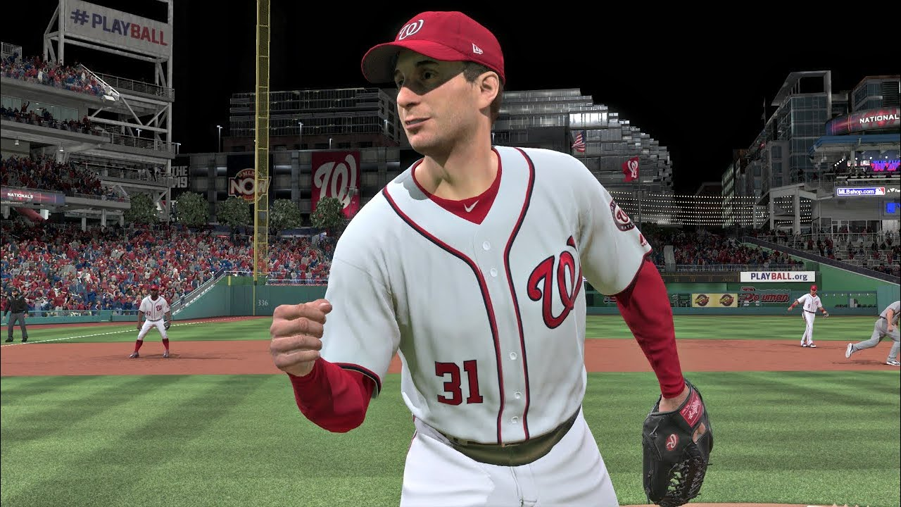 2019 MLB National League Wildcard Game - Nationals vs Brewers - MLB The Show 19 Sim 10/1/2019