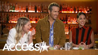 Ryan Reynolds' Daughters Visited Him On '6 Underground' Set & He Dishes On Fatherhood! thumbnail
