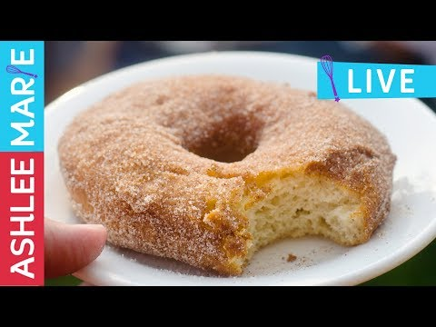 Homemade Raised Donuts with Multiple