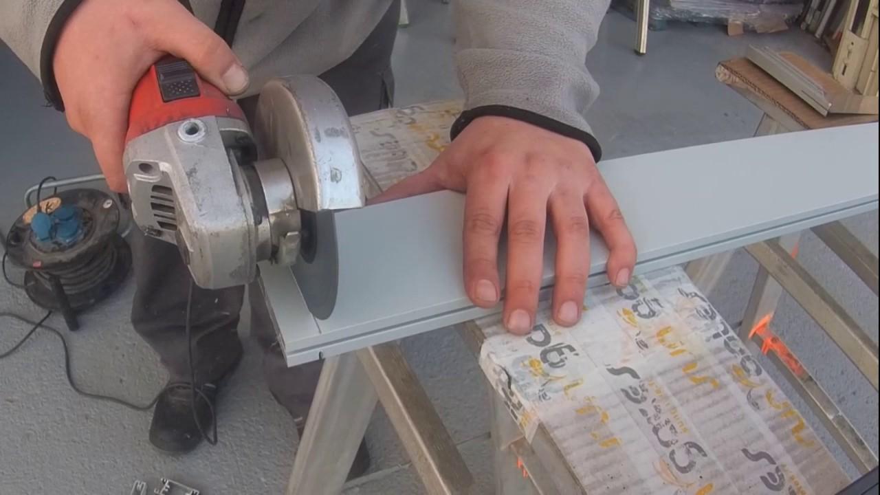 Sungates comment recouper votre portail aluminium ou portillon youtube - Comment couper une courgette ...