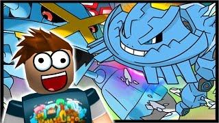 MEGA CRYSTAL STEELIX & MEGA METAGROSS!! | Roblox Pokemon Brick Bronze | Ep 48
