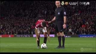 Penalty Manchester United vs Middlesbrough League Cup 28/10/2015