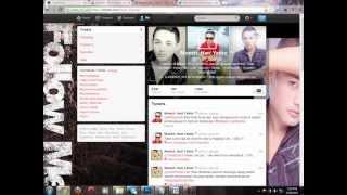 Memperbagus Profile Twitter | Header dan Avatar Menjadi Satu