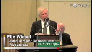 Did the World Learn from Auschwitz? - Elie Wiesel
