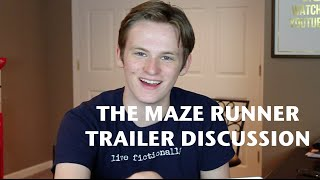 THE MAZE RUNNER NEW TRAILER DISCUSSION | tiernanbe Thumbnail
