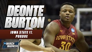 Deonte Burton's game-high 25 points not enough for Iowa State
