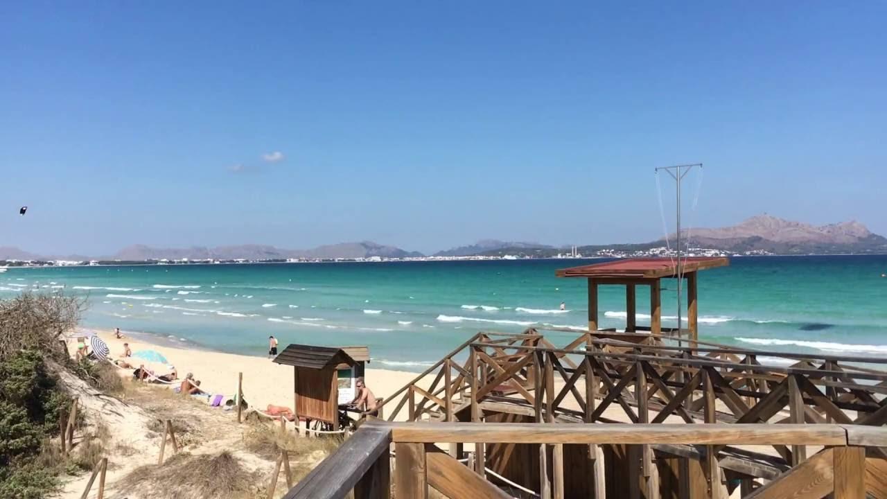 Playa De Muro Beach Can Picafort Mallorca