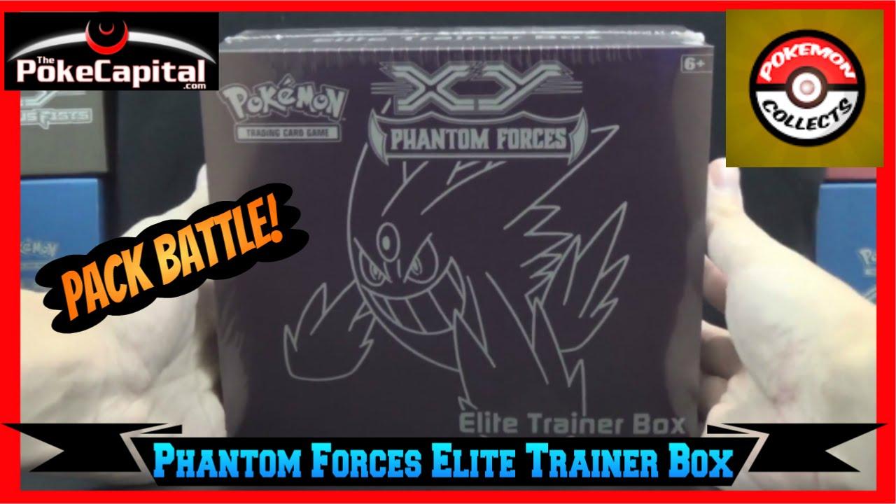 Pokemon xy phantom forces elite trainer box battle vs pokemoncollects