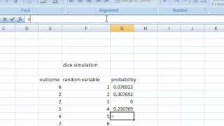 dice simulation