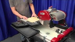 MK TX 4 Tile Saw - features and demo