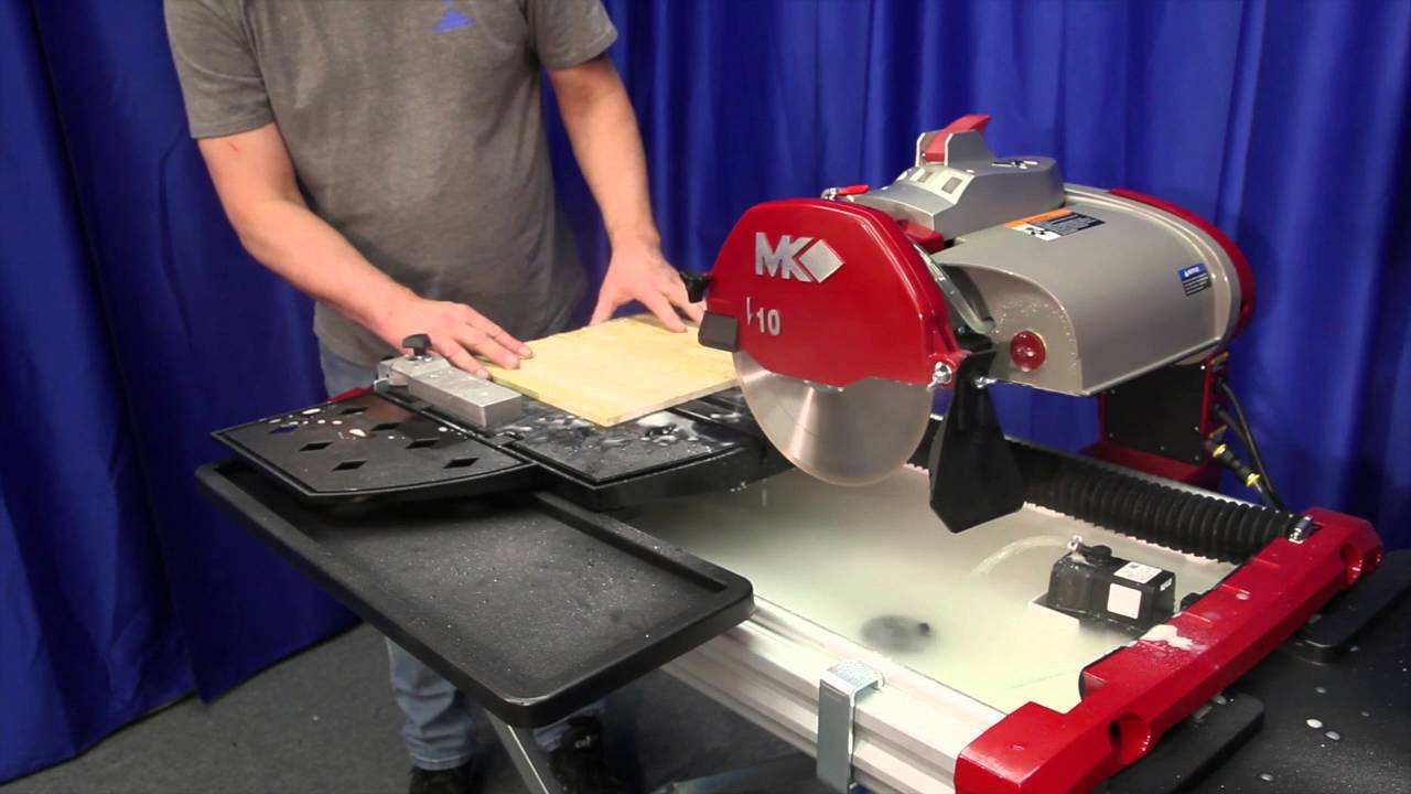 mk tx 4 tile saw features and demo