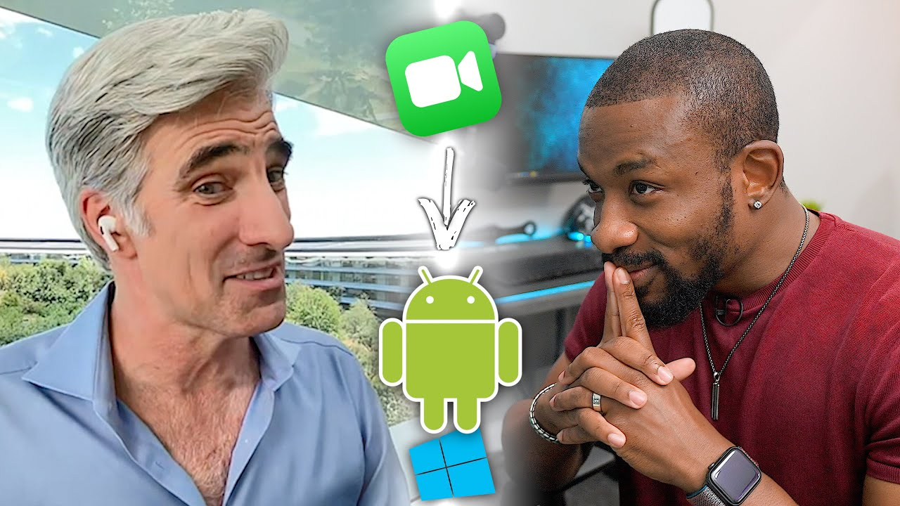 Asking Apple why FaceTime FINALLY came to Android