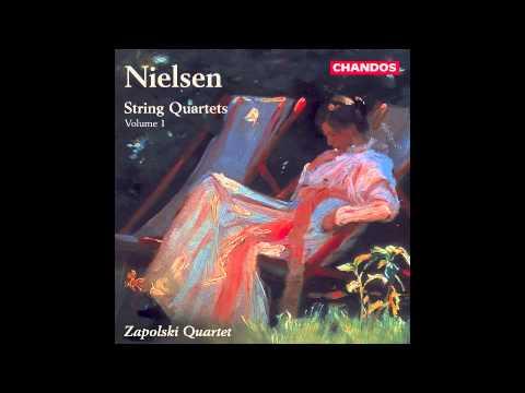 Carl Nielsen: String Quartet No. 4, Zapolski Quartet