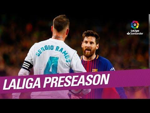 LaLiga Preseason 2018/2019: ¡Vuelve LaLiga Santander!