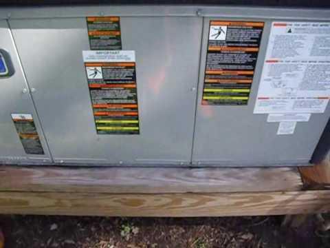 2007 American Standard Dual Fuel Package Unit