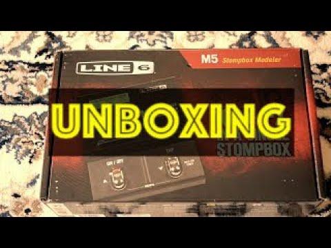 Line6 M5 (UNBOXING)