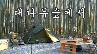 [캠핑] 시원한 담양 대나무숲에서 완벽한 봄캠핑, 열흘…