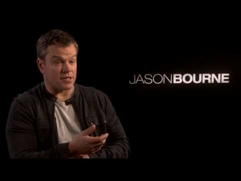 Matt Damon - Jason Bourne Interview