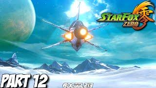 Star Fox Zero Gameplay Walkthrough Part 12 Sector Gamma & Fichina - Nintendo Wii U Let's Play 60fps
