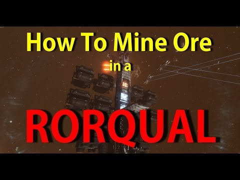 How to mine ore using a Rorqual - EVE Online