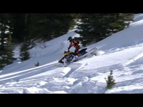 2012 BigHorn Snowmobile Trip Part 3: Snowmobiling Action!!