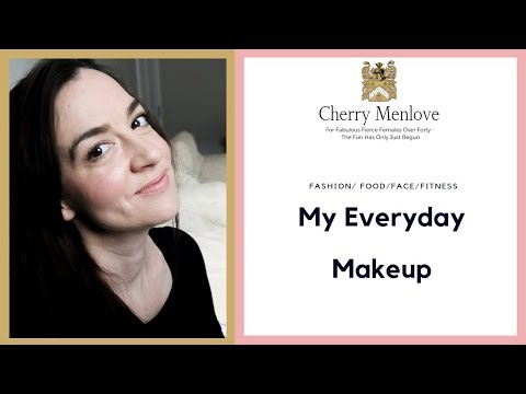 QUICK & EASY Everyday Makeup | OVER 40 Fashion/Makeup/Beauty | Cherry Menlove thumbnail