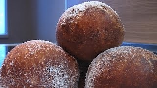 Московские пончики . Очень вкусно!(Сайт проекта:http://www.videocooking.ru Приготовлено по рецепту из книги