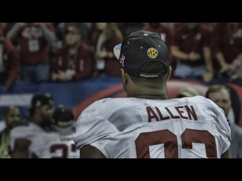 Follow Jonathan Allen off the field after the SEC Championship