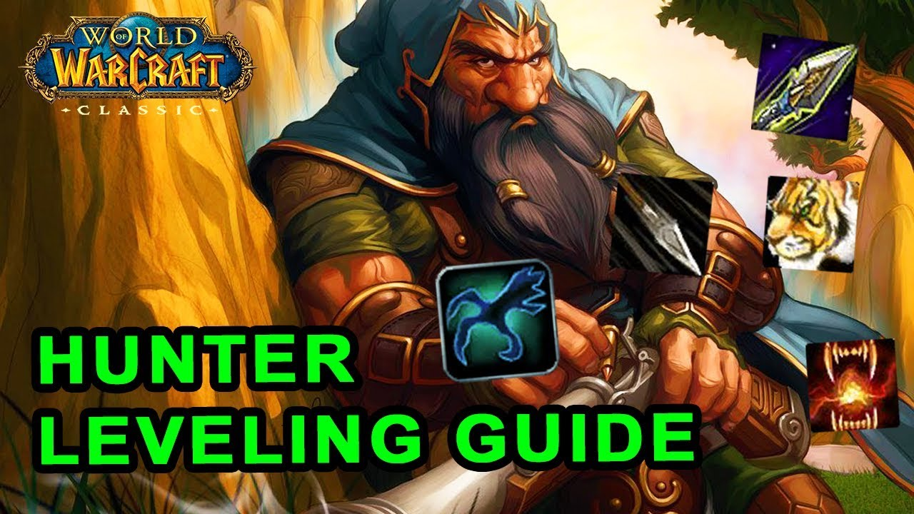 Classic WoW: Hunter Leveling Guide - Talents, Rotation and Pets - YouTube