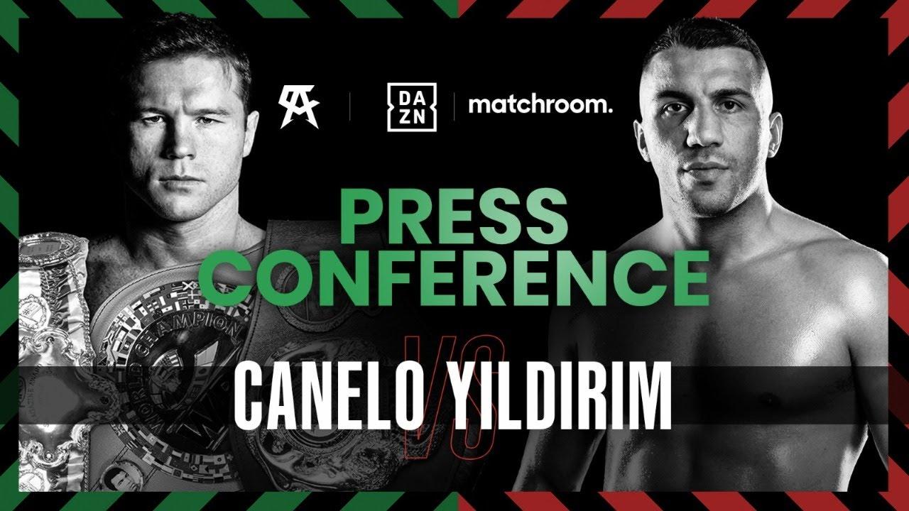 Canelo Yildirim Final Press Conference