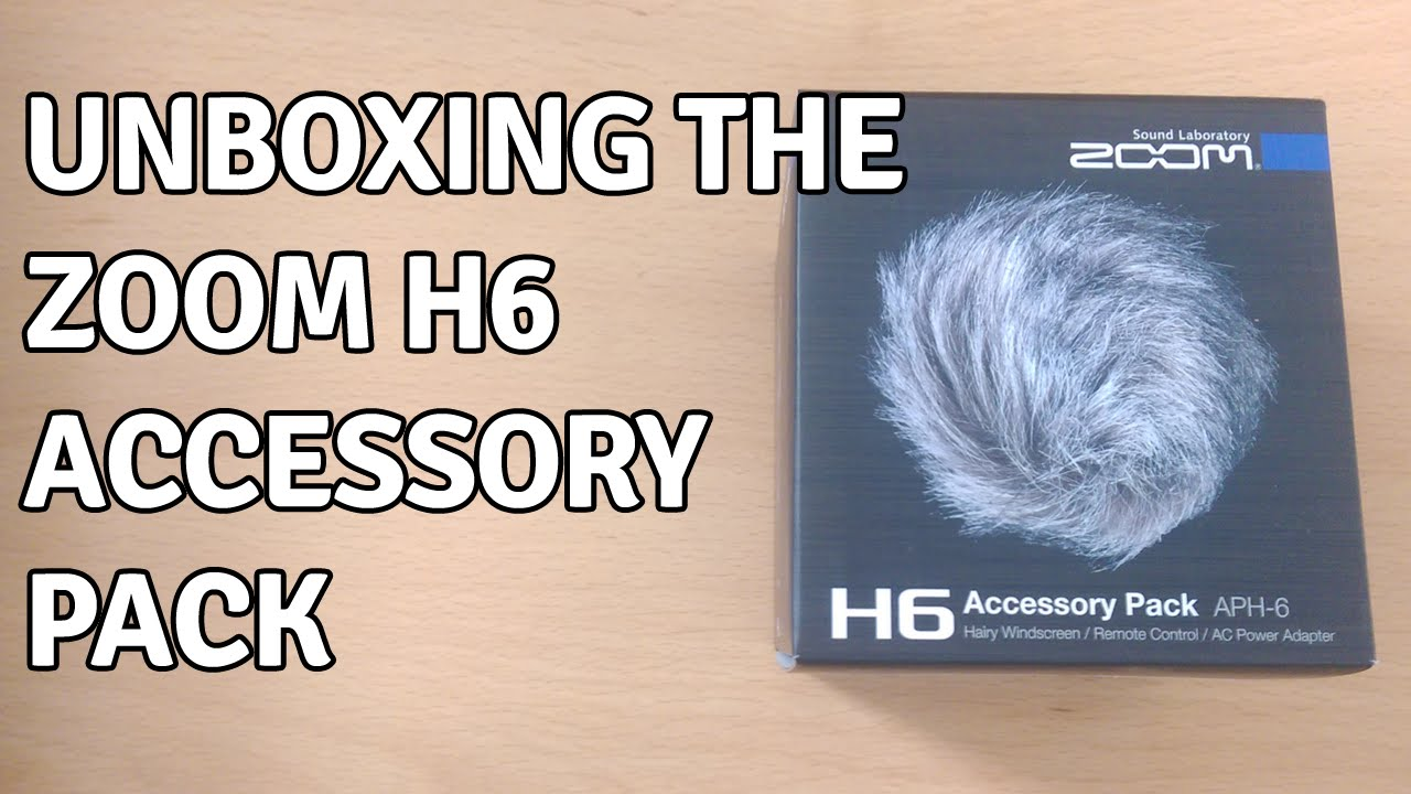 Unboxing the Zoom H6 Accessory Pack (APH-6)
