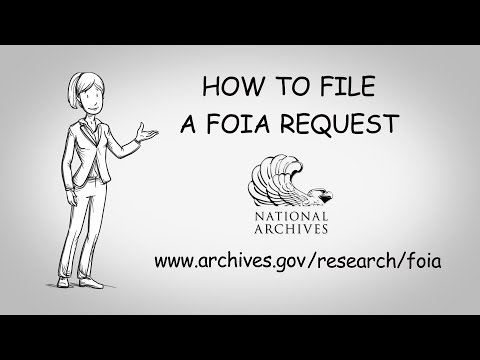 How to File a FOIA Request with the National Archives