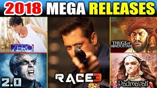 This Five Films That Will Make Or Break 2018 | Race 3 | Zero | Thugs Of Hindostan | Padmavati | 2.0