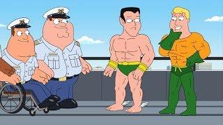Peter meets Aquaman