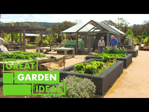 Graham Ross Visits the ULTIMATE Vegetable Garden | GARDEN | Great Home Ideas