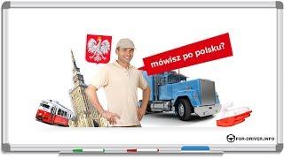 Польский для начинающих. Основы для водителя. часть 1
