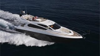 Sunseeker Manhattan 63 Luxury Yacht walk around tour! Part 1