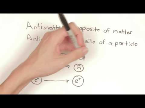 What is Antimatter? (In the style of Minute Physics)