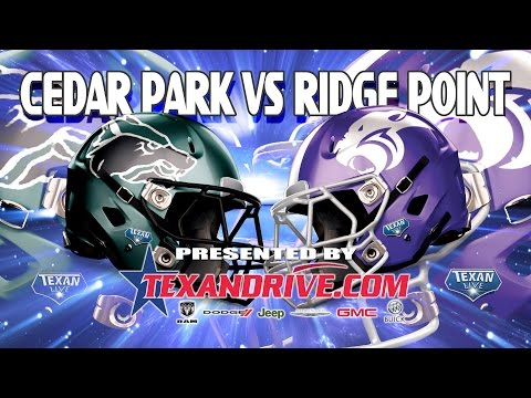 Ridge Point vs Cedar Park: 1st Half 12.12.2015
