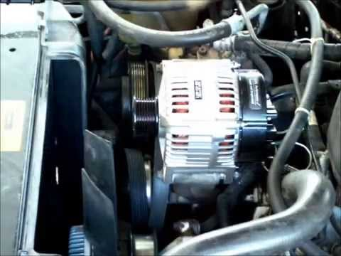 hqdefault replacing alternator in 1998 land rover discovery i youtube 1990 Fleetwood Southwind Wiring-Diagram at creativeand.co
