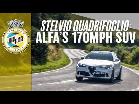 Alfa Romeo Stelvio Quadrifoglio: The SUV You're Allowed To Like!