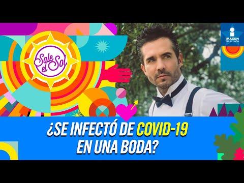 ¿José Ron se infectó de COVID-19 en la boda de Armando Torrea?   Sale el Sol