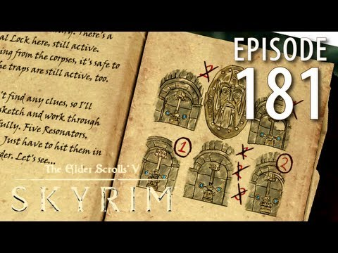 Elder Scrolls V: Skyrim Walkthrough in 1080p, Part 181: The Aetherium Shard in Arkngthamz (1080p HD)