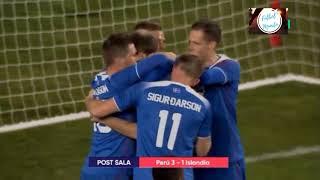 PERU VS ISLANDIA 3-1 RESUMEN GOLES