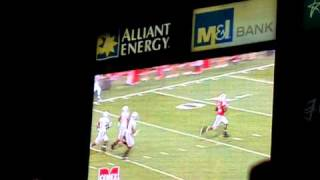 Wisconsin Badgers David Gilreath Kick Return runback vs #1 Ohio State