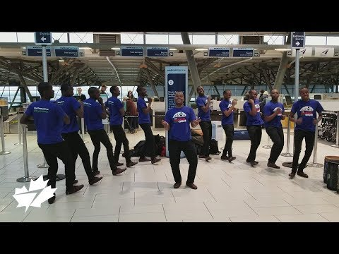Kenyan Boys Choir surprises guests in Ottawa | WestJet