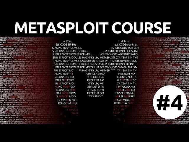 Metasploit For Beginners - #4 - Basic Exploitation