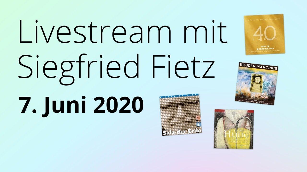 Online-Konzert am 07.06.2020
