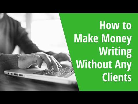 How to Make Money Writing Without Any Clients: INSIDE AWAI